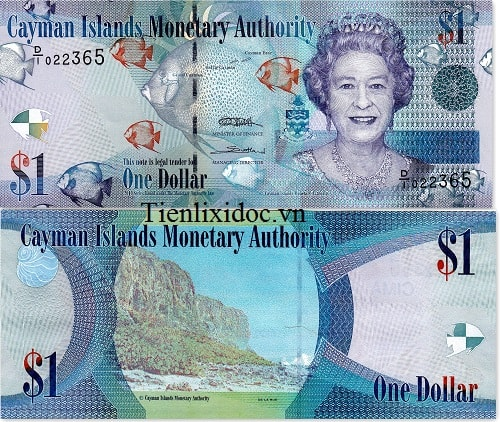 1 Dollar Cayman Islands