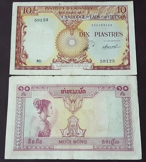 10 Đồng Viện Phát Hành Cô Gái Lào 1953