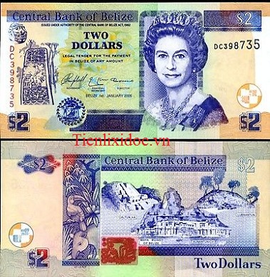 2 Dollar Belize