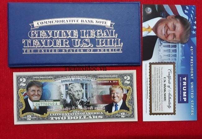 2 usd tổng thống donal trump, 2 usd donal trump