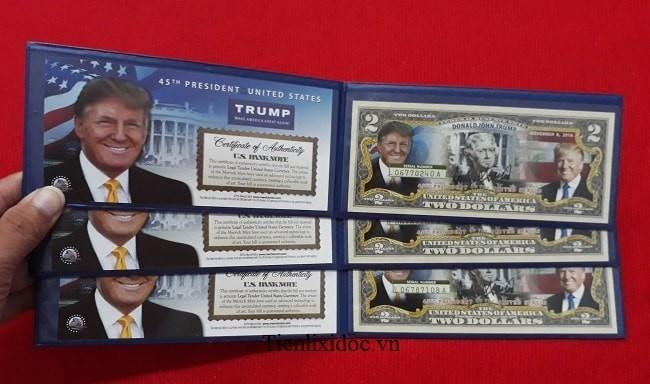 2 Usd Tổng Thống Donald Trump