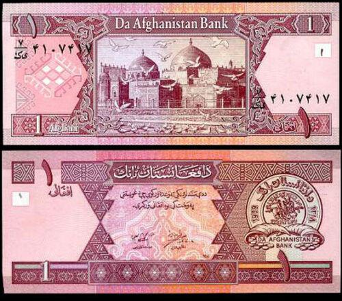 Afghanistan 1 afganis 2002