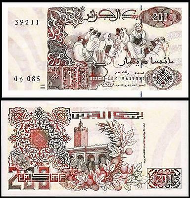 Algeria 200 dinars 1992