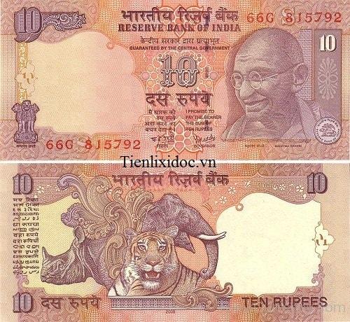 Ấn Độ 10 Rupee