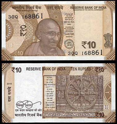 Ấn Độ 10 rupees 2018