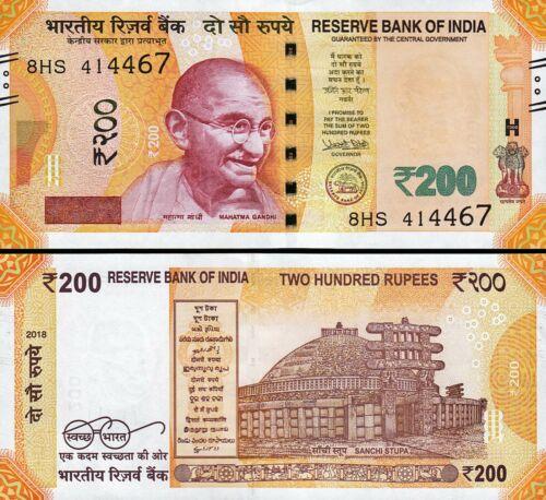 Ấn Độ 200 rupees 2018