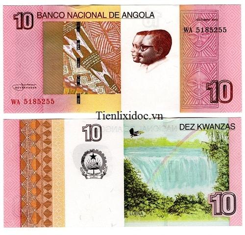 Angola 10 Kwanza