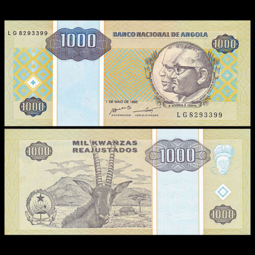 Angola 1000 1995
