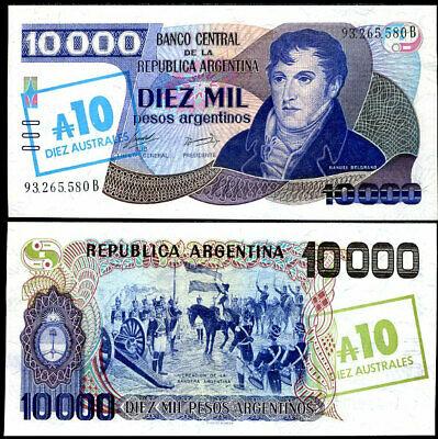 Argentina 10.000 pesos 1985