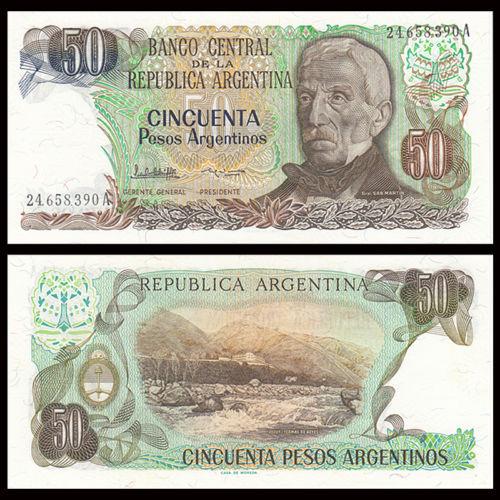 Argentina 50 pesos 1983
