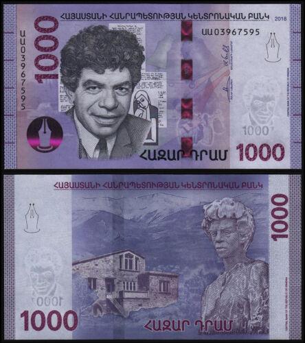 Armenia 1000 dram 2018