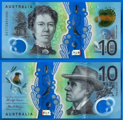 Australia 10 dollars 2017 polymer