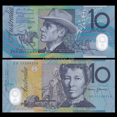 Australia 10 dollars polime