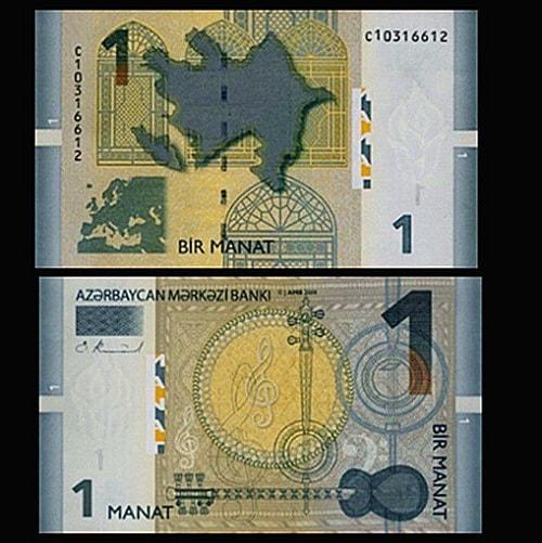 Azerbaijan 1 Manat