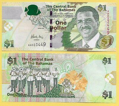Bahamas 1 dollar 2008