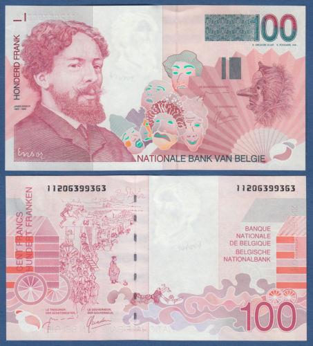 Belgien 100 Francs 1995