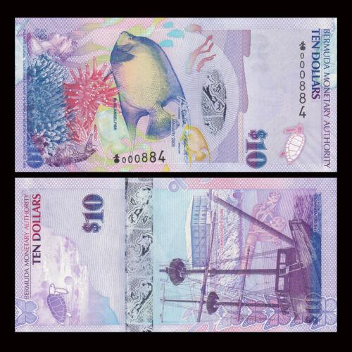 Bermuda 10 dollars 2009  hybrid