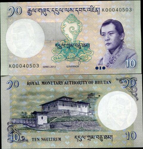 Bhutan 10 ngultrum 2013