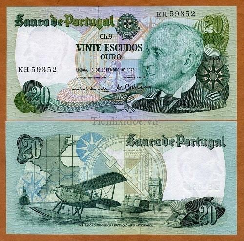 Bồ Đào Nha 20 escudos 1978