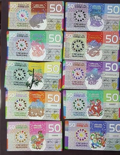 Bộ Tiền 12 Con Giáp Kamberra Úc