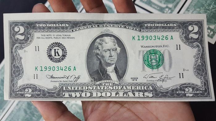 Bộ Tiền 2 Usd 1976 12 Bang Của Mỹ