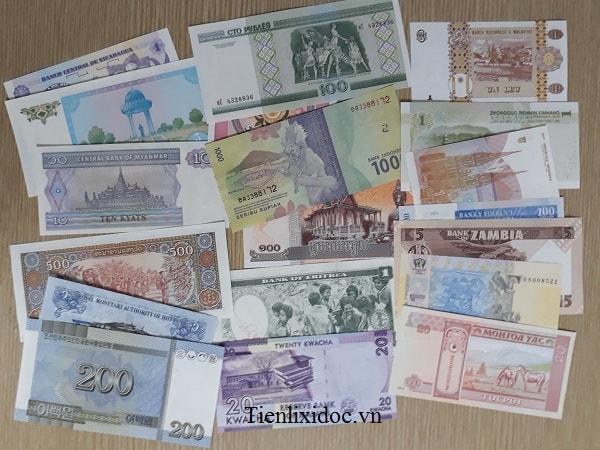 Bộ Tiền 20 Nước Khác Nhau