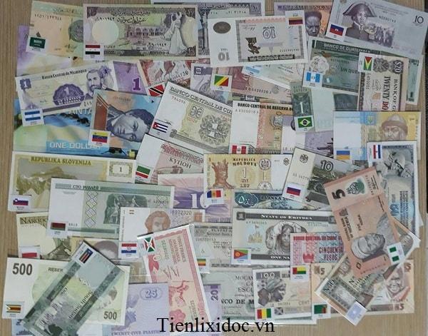 Bộ Tiền Thế Giới 68 Quốc Gia
