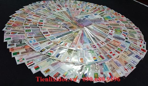 Bộ Tiền Thế Giới 170 Nước