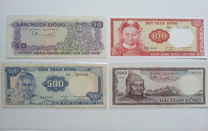 Bộ Tiền Việt Nam Cộng Hòa 1966(Bộ Tướng)