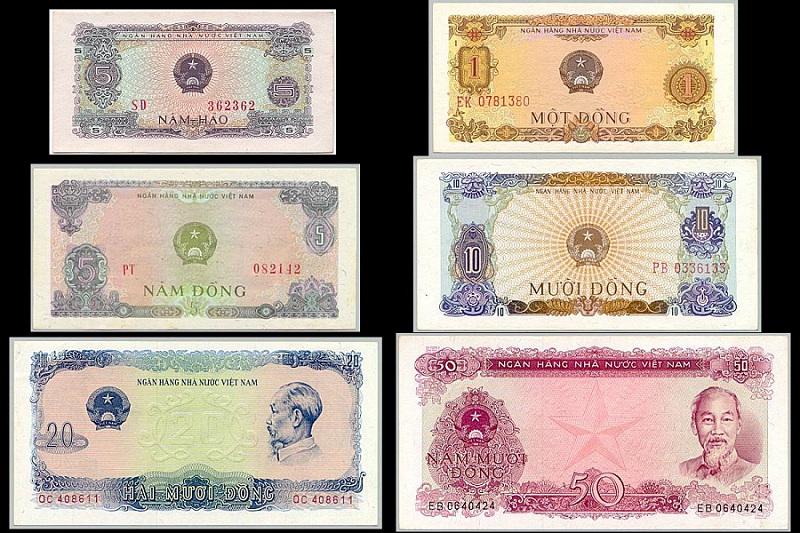 Bộ Tiền Việt Nam Năm 1976