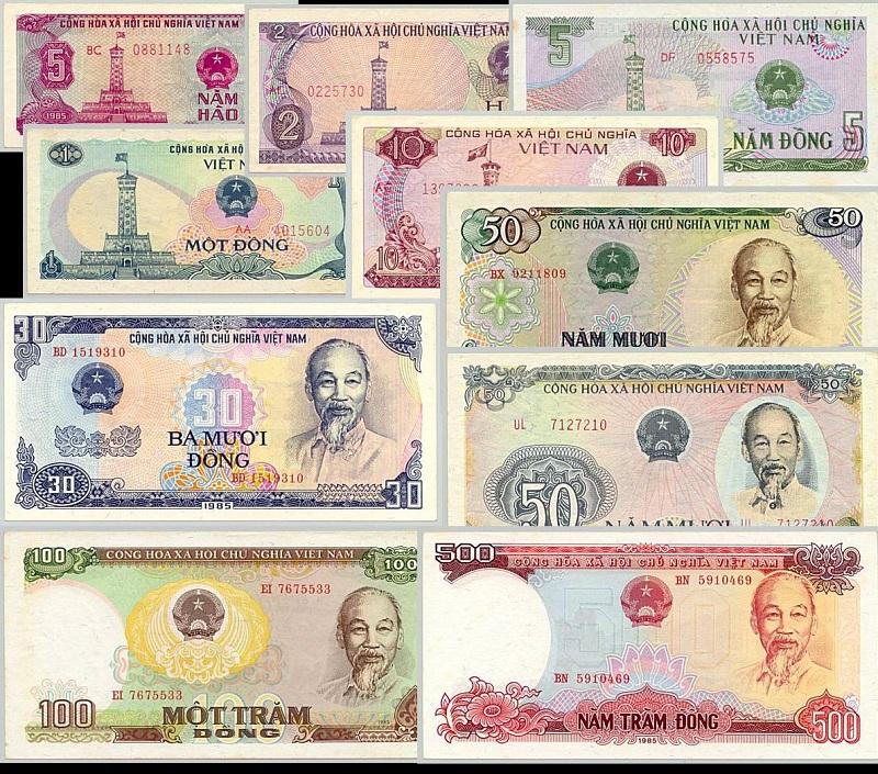Bộ Tiền Việt Nam Năm 1985