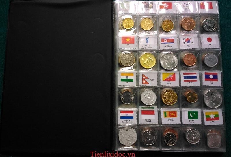 Bộ Tiền Xu 180 Nước