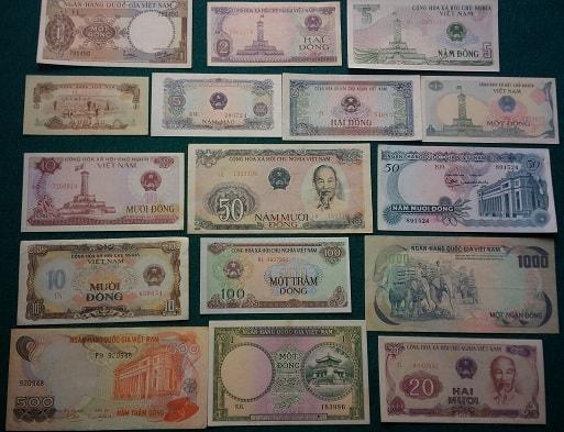 Bộ Tiền Xưa Khuyến Mãi 16 Tờ