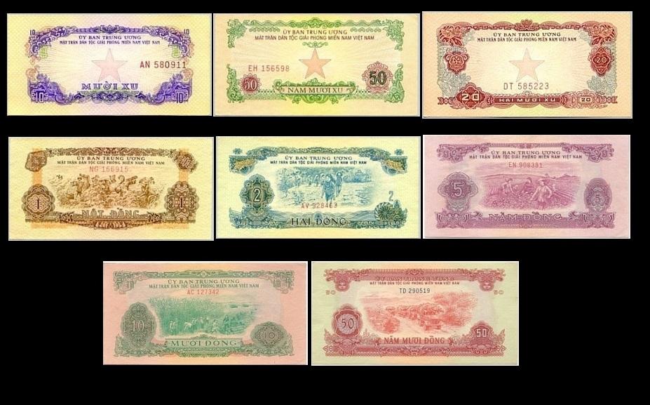 Bộ Tiền Xưa Mặt Trận Giải Phóng Miền Nam 1963