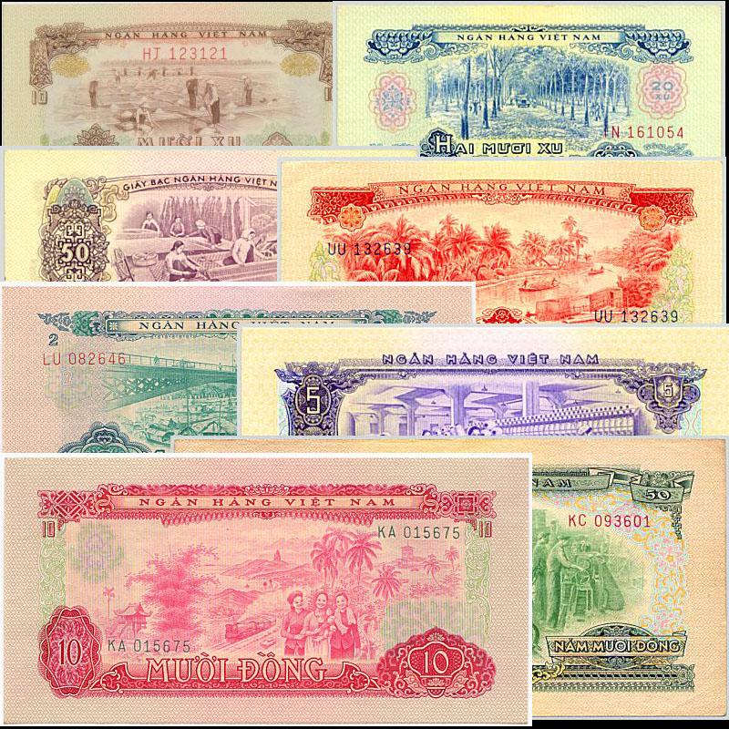 Bộ Tiền Xưa Việt Nam Dân Chủ 1966