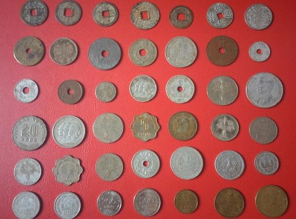 Bộ Xu Cổ Các Thời Kỳ 40 Đồng