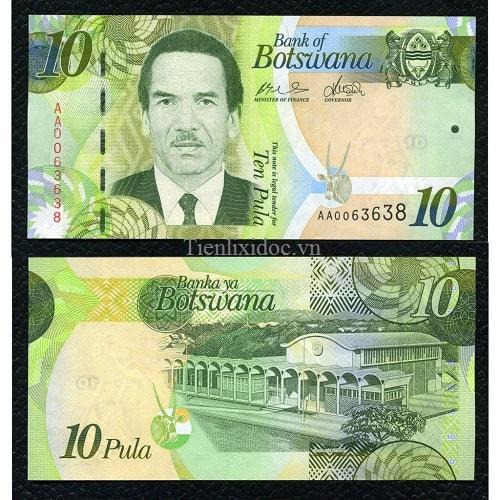 Botswana 10 pulas 2011