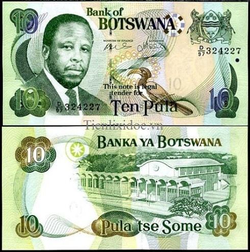 Botswana 10 pulas