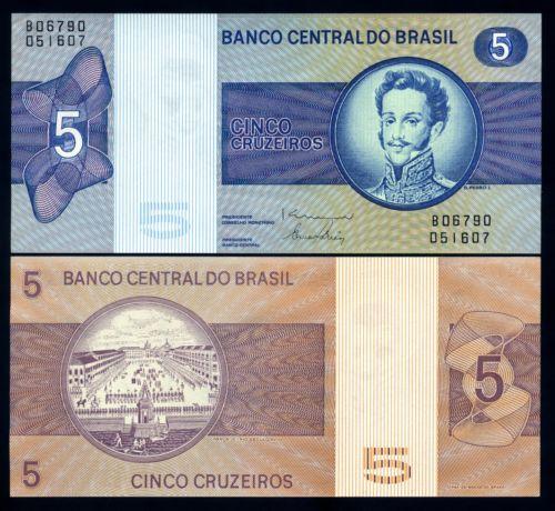 Brazil 5 cruzeiros 1979