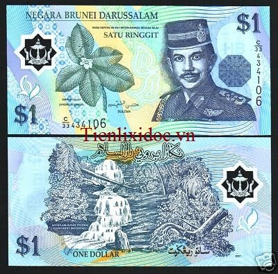 Brunei 1 Ringgit - Polymer