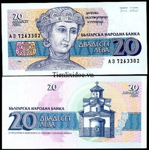 Bulgaria 20 Lép