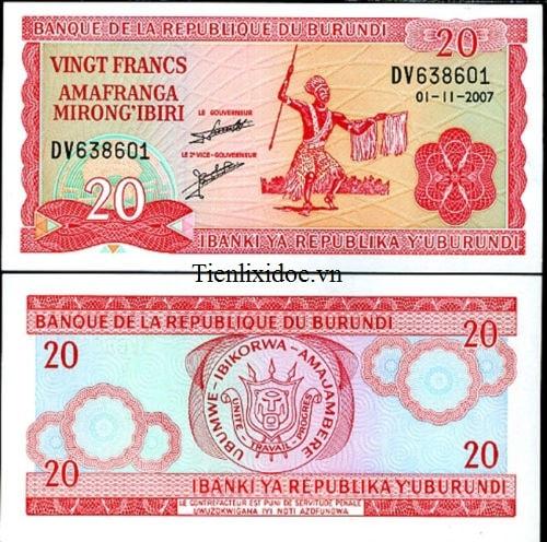 Burundi 20 Franc