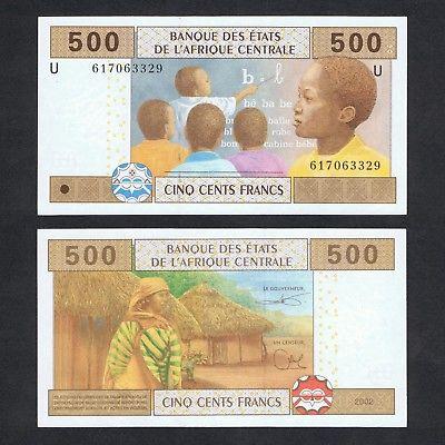 Cameroon 500 francs 2002