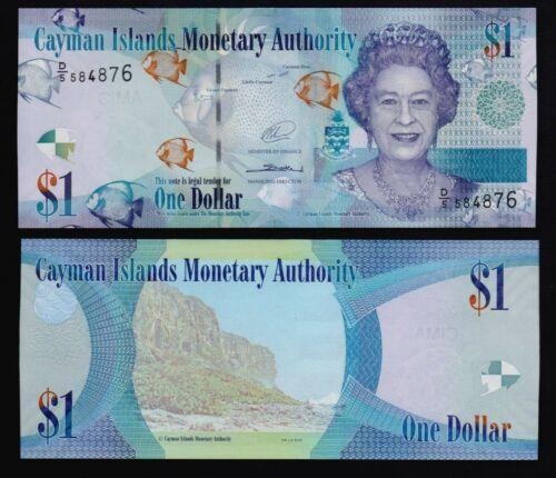Cayman Island 1 dollar 2014