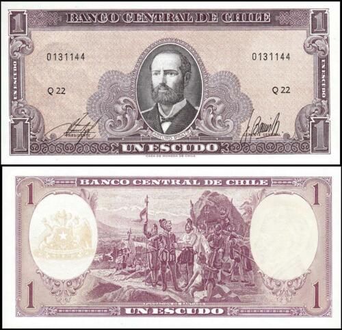 Chile 1 escudos 1970