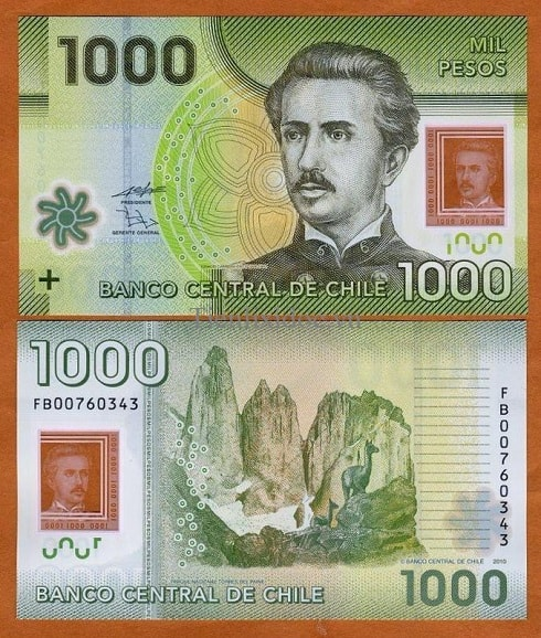 Chile 1000 pesos (polymer)