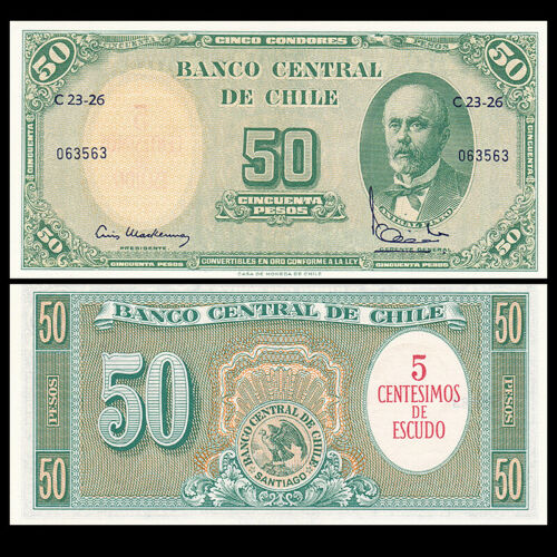 Chile 50 pesos 1960