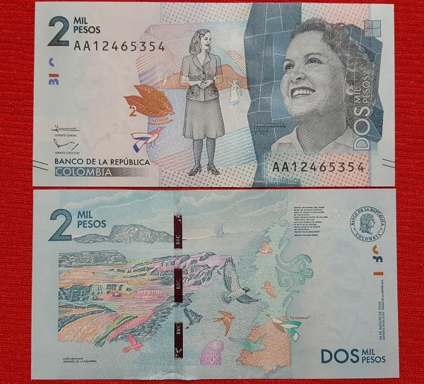 Colombia 2 Mil Pesos