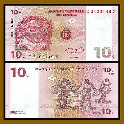 Conggo 10 francs 1997
