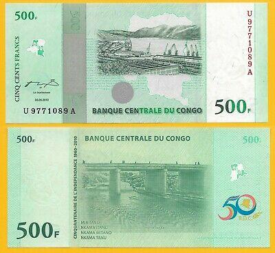 Conggo 500 francs 2010